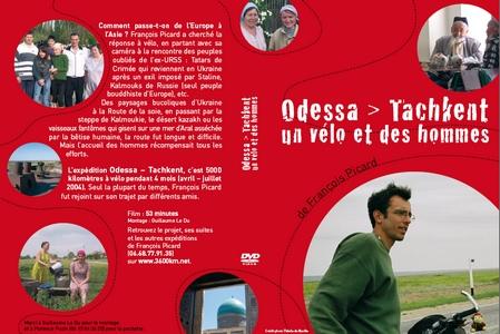 Le DVD Odessa-Tachkent, un vélo et des hommes width=